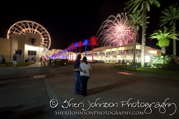 Fireworks at The Wharf in Orange Beach, AL